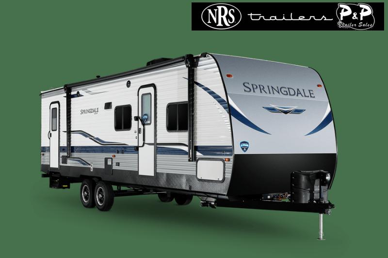 2022 Keystone RV Springdale 202QBWE 25 ' Travel Trailer RV