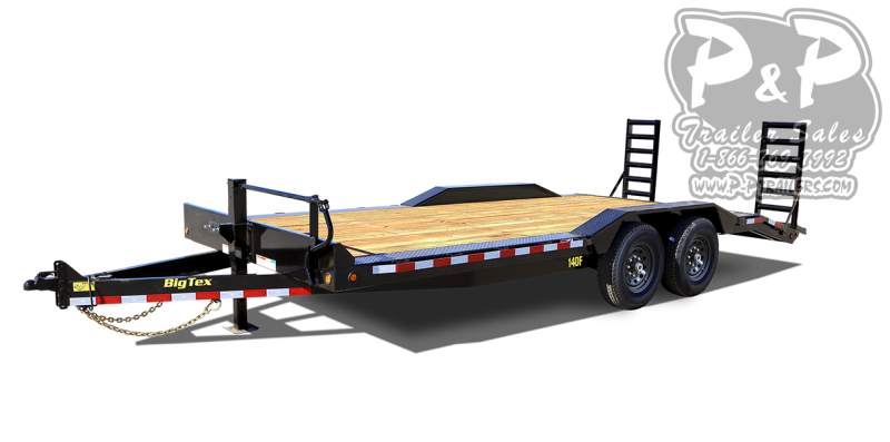 2020 Big Tex Trailers 14DF-22BK 22 ' Equipment Trailer