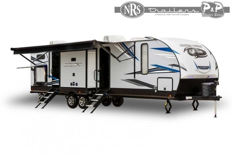 2022 Forest River Alpha Wolf 33BH-L 37 ' Travel Trailer RV