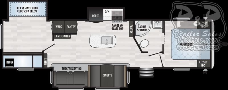 2020 Keystone Springdale 332RB 37.58 ft Travel Trailer RV
