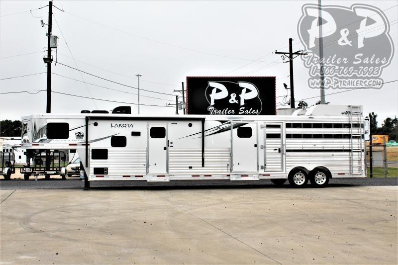 2021 Lakota Charger LE81415BB Livestock Trailer LQ