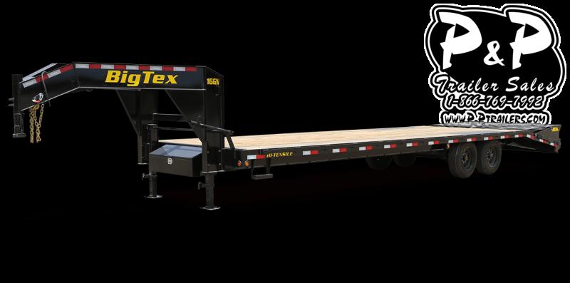 2021 Big Tex Trailers 16GN-35BK+5MR 40 ' Flatbed Trailer