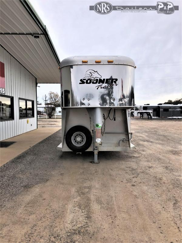 2004 Sooner 3H 3 Horse Slant Load Trailer 6 FT LQ