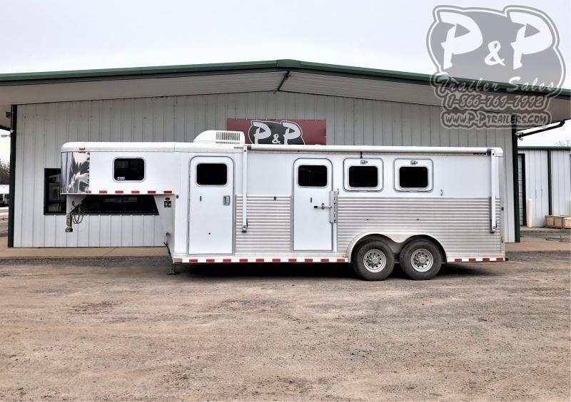 2004 Sooner 3H 3 Horse Slant Load Trailer 6 FT LQ