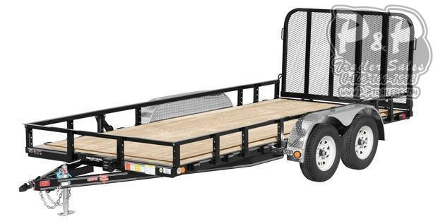 "2021 PJ Trailers 83 in. Tandem Axle Channel Utility (UL) 264 "" Utility Trailer"
