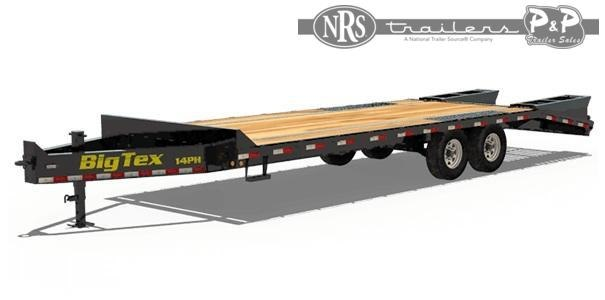 2021 Big Tex Trailers 14PH-20+5 25 ' Equipment Trailer