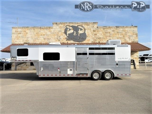 2021 Bloomer 8308OL 3 Horse Slant Load Trailer 8 FT LQ