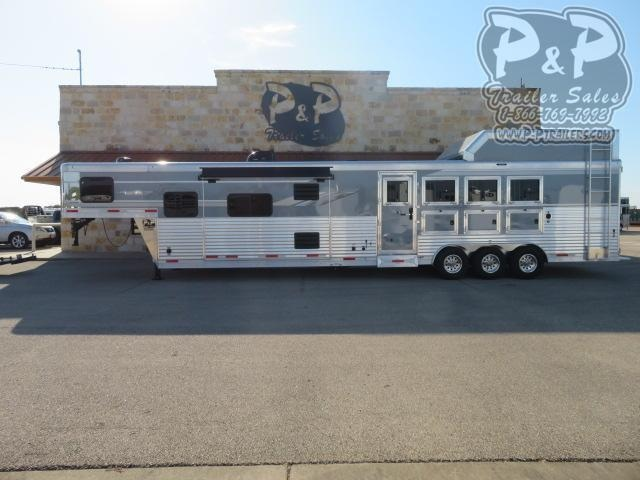 2021 SMC Horse Trailers SL8416SSRTRSL 4 Horse Slant Load Trailer 16 FT LQ With Slides