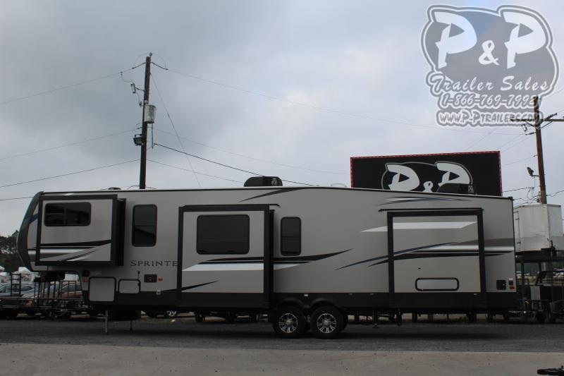 "2020 Keystone Sprinter 3611FWFKS 40' 6"" ft Fifth Wheel Campers RV"