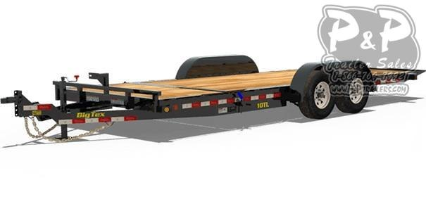 2021 Big Tex Trailers 10TL-20 Tilt Equipment Trailer