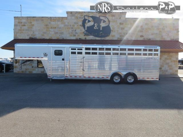 2021 Bloomer 24' Stock Combo w/ Super Tack Livestock Trailer