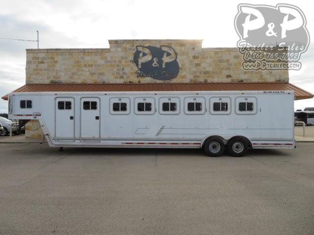 1997 Exiss Trailers 6H Extreme SX 6 Horse Slant Load Trailer