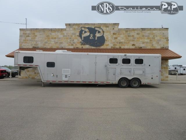 2000 Hart Trailers 8311 3 Horse Slant Load Trailer 11 FT LQ