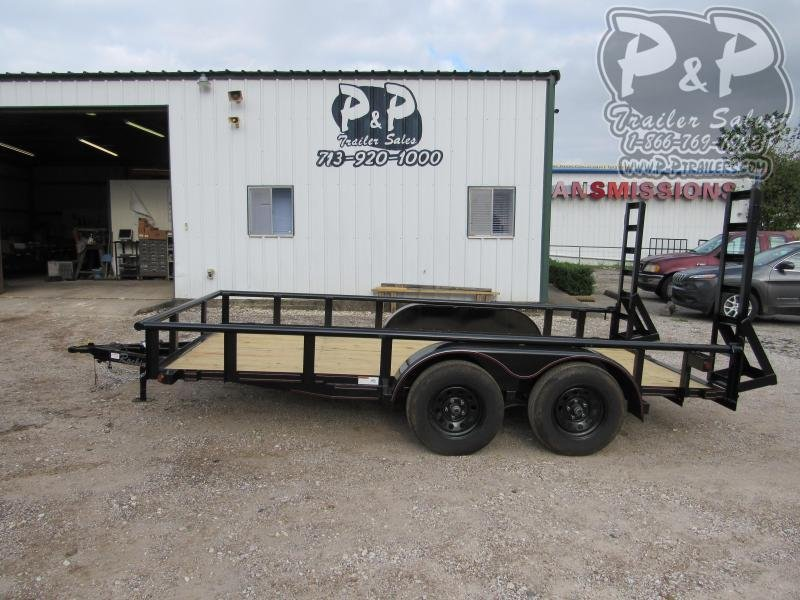 2020 P and P PPTA14X83LDFURPT 14 ' Utility Trailer