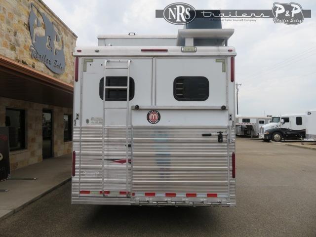 2008 Bloomer 8416 Champion Conversion 4 Horse Slant Load Trailer 16 FT LQ