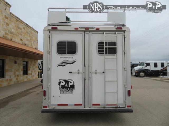"""2018 Platinum Coach 8311 3 Horse Slant Load Trailer 10' 4"""" FT LQ"""