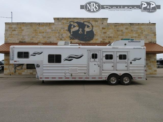 "2018 Platinum Coach 8311 3 Horse Slant Load Trailer 10' 4"" FT LQ"