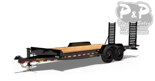 2021 Big Tex Trailers 16ET 17+3 Flatbed Trailer