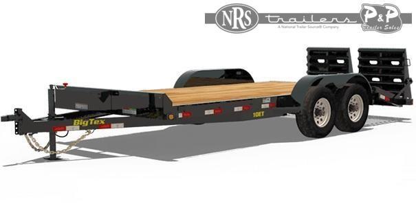2021 Big Tex Trailers 10ET-20BK 20 ' Equipment Trailer