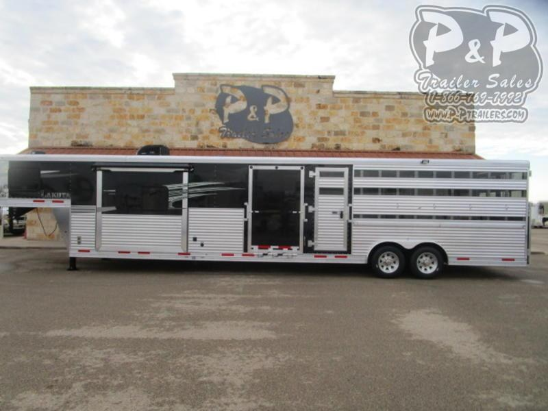 2021 Lakota LE81611 34 ' Livestock Trailer LQ