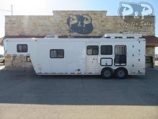 2006 Charmac Trailers 3 Horse 3 Horse Slant Load Trailer 10.5 FT LQ