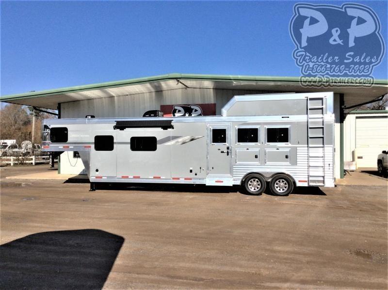 2021 SMC Horse Trailers SL8314SSR 3 Horse Slant Load Trailer LQ