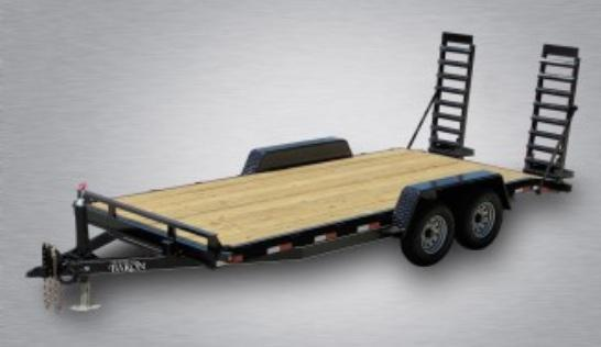 2020 Quality General Duty 18' (16' + 2' Dovetail) 14K Equipment Hauler