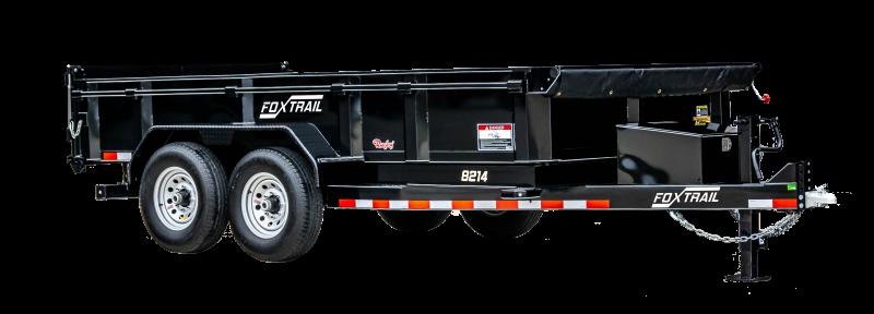 """2021 Fox Trail 8200 Series 82"""" Wide Tandem Axle 14' Dump Trailer"""