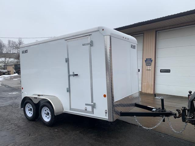 2021 Car Mate Trailers CM612CC-HD Enclosed Cargo Trailer W/ Ramp Door