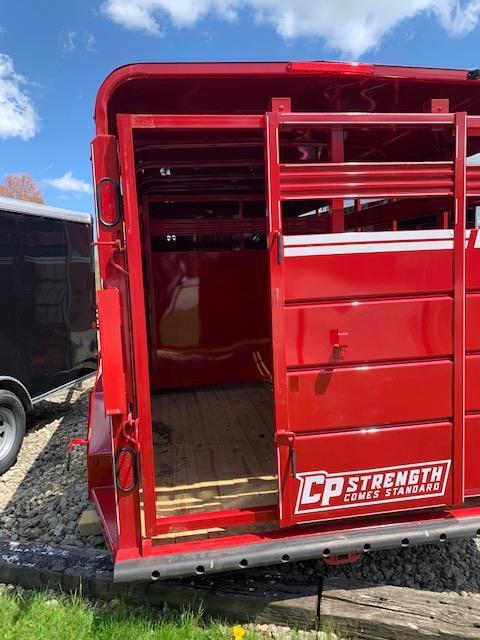 2020 CornPro SB-16 6S Livestock Trailer 7000# GVWR CHARCOAL GRAY