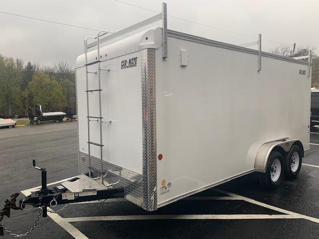 2021 Car Mate Trailers CM716CC-HD/CTR Enclosed Cargo Trailer
