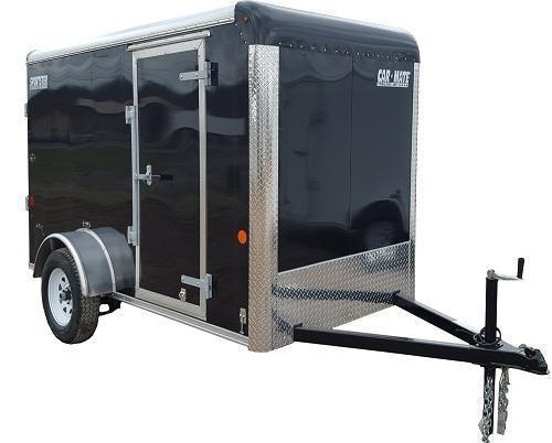 2020 Car Mate Trailers CM612EC Single Axle Enclosed Cargo Trailer W/ Ramp Door