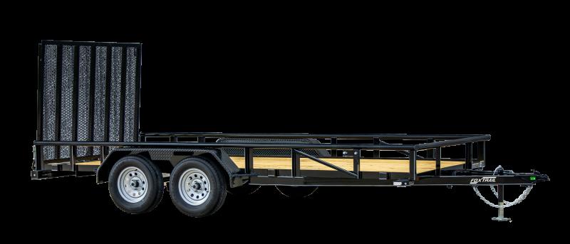 2021 Fox Trail 840 Series 18' Tandem Axle Landscape Trailer
