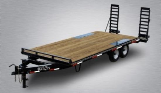 2021 Quality 22' Deckover (18' + 4' Dovetail) Trailer General Duty 14000# GVW