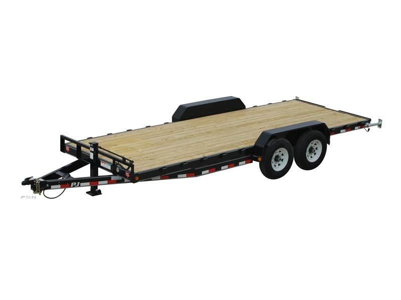 "2021 PJ Trailers 83"" X 20' 6 in. Channel Equipment Trailer (CC)  De-Rated to 9990# GVWR"