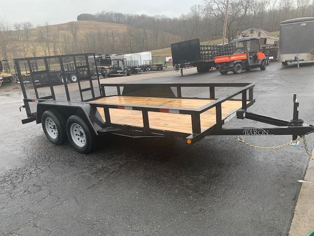"2021 Quality 82"" x 14' Tandem Axle Landscape Trailer General Duty"