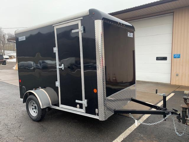 2021 Car Mate Trailers CM610EC Single Axle Enclosed Cargo Trailer W/ Ramp Door