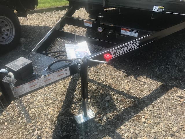 2020 Corn Pro 12' Single Axle Tilt Trailer 6K