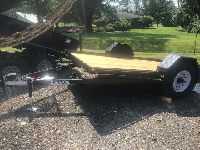 2021 Corn Pro 12' Single Axle Tilt Trailer 6K