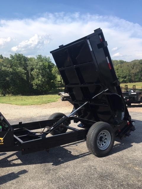 2020 Griffin GT608 5X8 Single Axle Dump Trailer