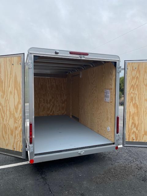 2021 Car Mate Trailers CM612CC -6'W Single Axle Custom Cargo Trailer Enclosed Cargo Trailer