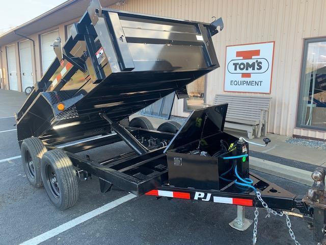 2021 PJ Trailers 60 in. (5 x 10)  Utility Dump (D5) Dump Trailer