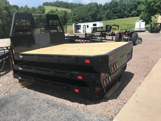 "2020 SH Truck Bodies 84"" W X 8'6"" Single Wheel Steel Truck Bed"