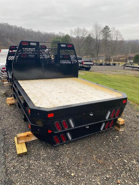 "2021 SH Truck Bodies 84"" W X 7'6"" Single Wheel Steel Truck Bed**WOOD DECK"
