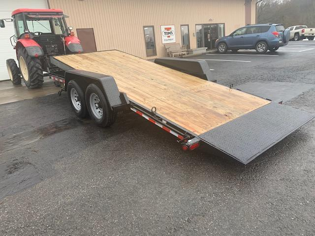 "2021 Quality Trailers 82"" x 18' Professional Grade Tilt Skid Steer 15K Equipment Trailer"