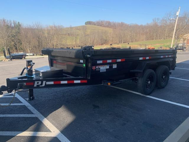 2021 PJ Trailers 83 in. (7 x 14) Low Pro Dump (DL) Dump Trailer