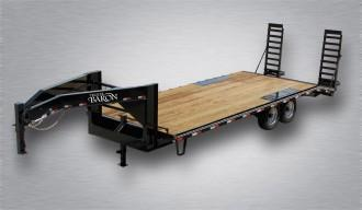 2021 Quality 24' Gooseneck (20' + 4' Dovetail) General Duty 14000# GVW