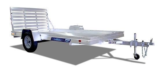 2022 Aluma 7814ESA-S-TG Utility Trailer