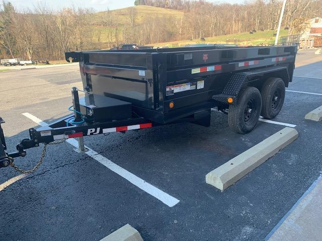 2021 PJ Trailers 72 in. (6 x 12) Tandem Axle Dump (D3) Dump Trailer