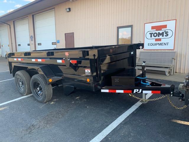 2021 PJ Trailers 72 in. (6 x 12) Tandem Axle Dump (D3) Dump Trailer